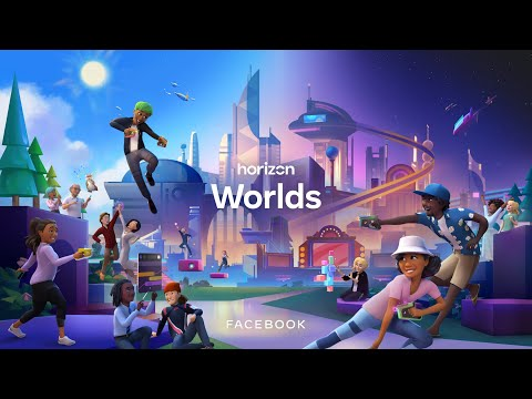 Facebookのメタバース「horizon Worlds」PV公開。クリエイターファンド発表。ソーシャルVR 最新ニュース 2021年10月