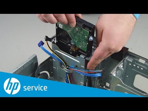 Replace the Hard Drive | HP Pavilion Gaming 790-xxx PC Series and ENVY Desktop 795-000 CTO | HP