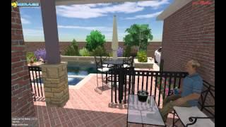 Mirage Custom Pools Starcreek Allen Texas Highland Homes