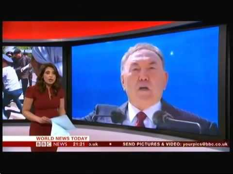 Protests in Khazakhstan   BBC World News   21st May 2016