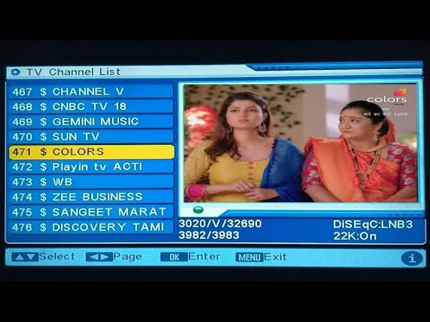 How to add encrypted program channel star sport 1 fta on DD free dish MPEG 2