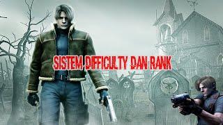 Sistem Rank Dan Difficulty Dalam Resident Evil 4