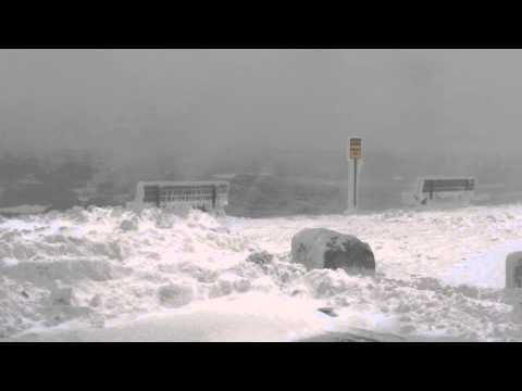 Blizzard of 2015, Spring Point, South Portland, ME