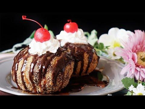 Fried Ice Cream Is ALWAYS Better Than Regular Ice Cream!