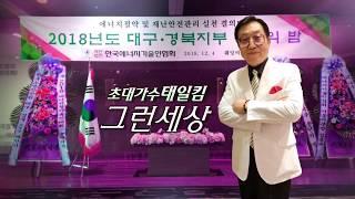 가수태일킴/그런세상/2018대구경북지부에너지송년의밤초대가수