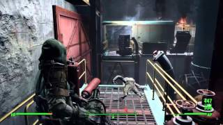 Fallout 4 PS4 - The First Step - Kill Jared - open Corvega safe