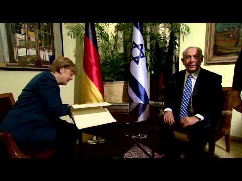 PM Netanyahu Meets Chancellor of Germany Angela Merkel