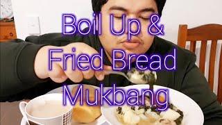 MUKBANG - BOIL UP AND FRIED BREAD | Maori Language Week 2018 | Te Pūtahi Atawhai | Memories