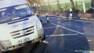 RJ02 ZFY - Why cut in the cycle lane, why !