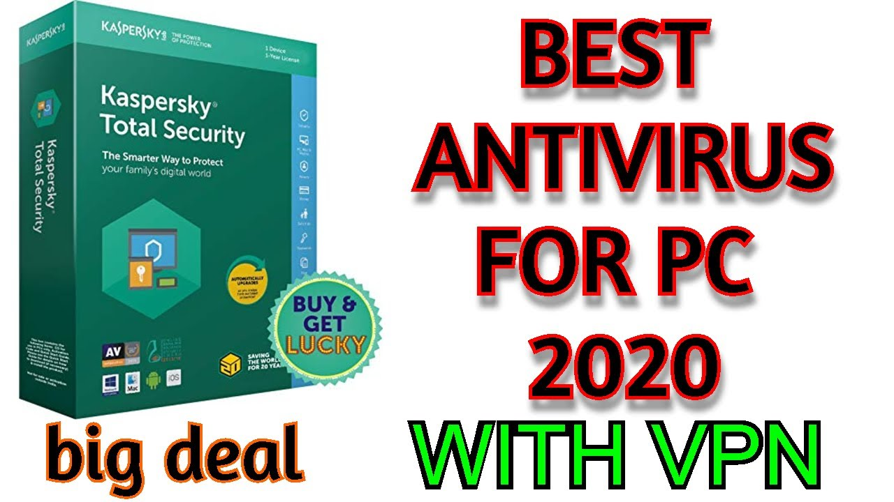 Best Free Antivirus In 2020 For Pc Windows 7 8 Or10 Or Mac Full Kaspersky Security Review 2020 Youtube