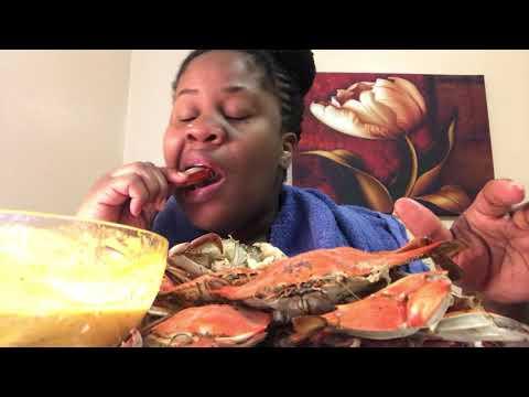 Blue Crab MUKBANG