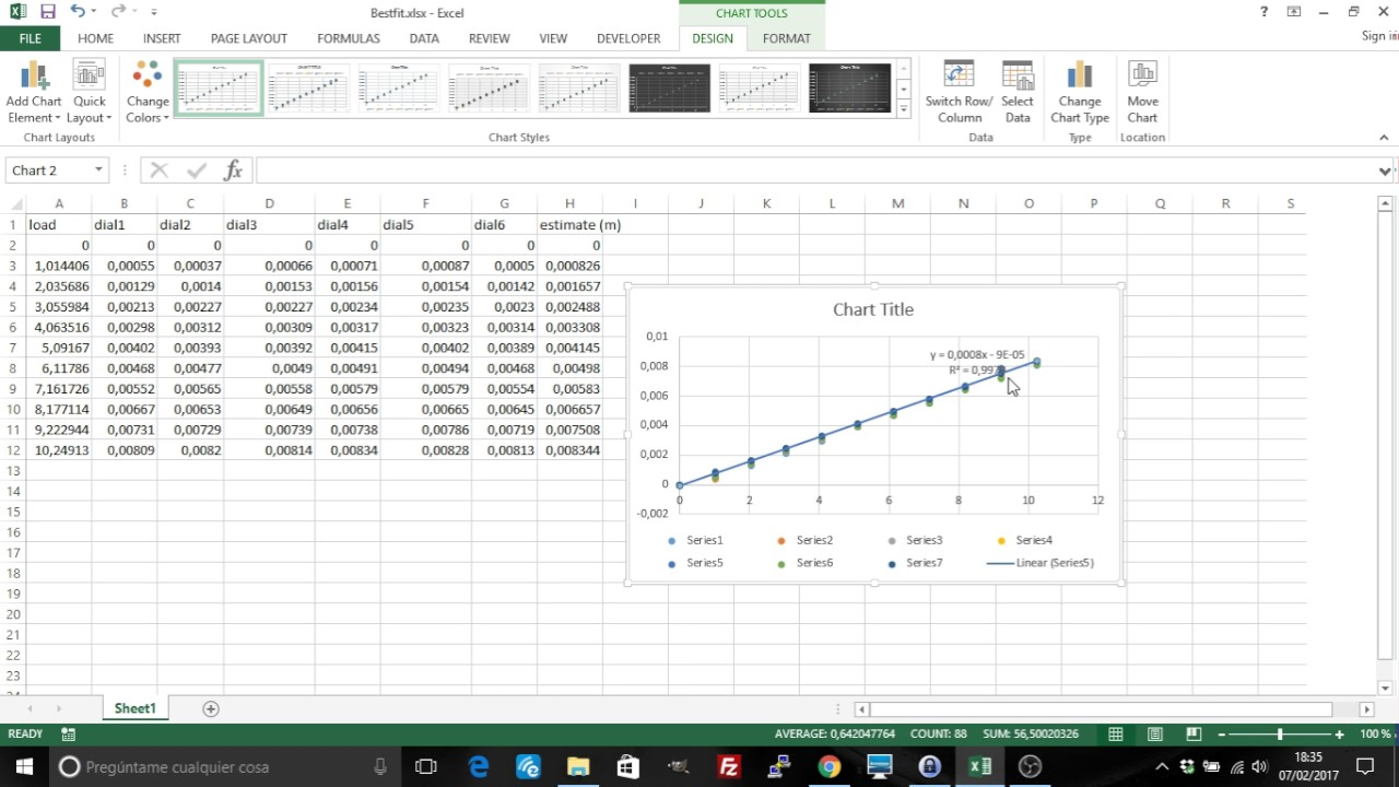 Excel: Linear regression, trendline, line of best fit ...