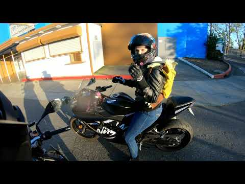 First Date With Cute Biker Girl
