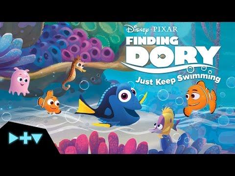 Disney Pixar - Finding Dory: Just Keep Swimming