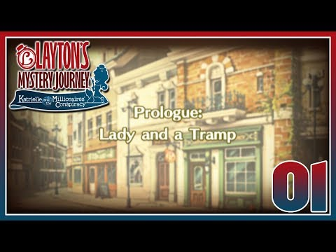 Layton's Mystery Journey - Prologue: Lady and a Tramp