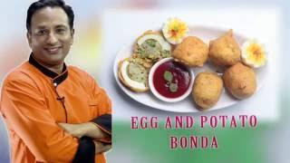 Egg Recipe - Egg Potato Bonda - Egg Bonda - Potato Recipe Bonda