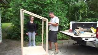 Building  Outhouse Aug 25 2013
