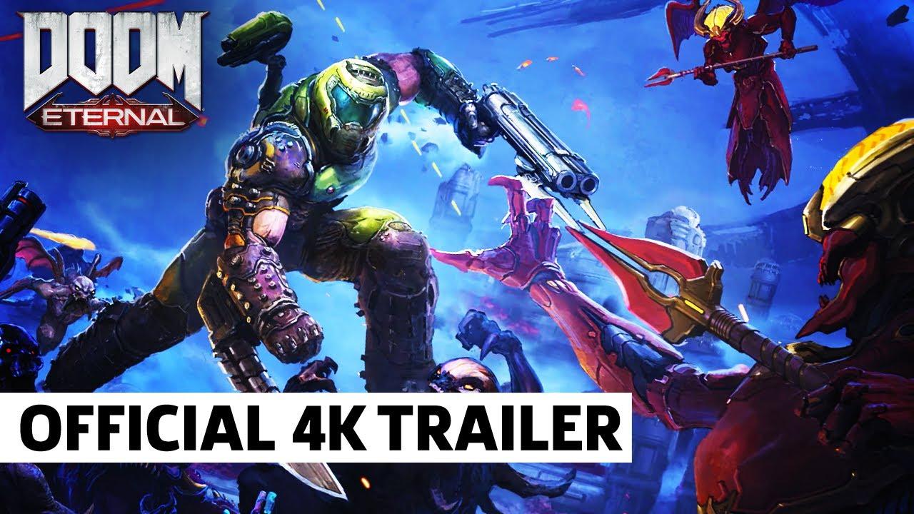 Doom Eternal Official Dlc Teaser Part 1 The Ancient Gods