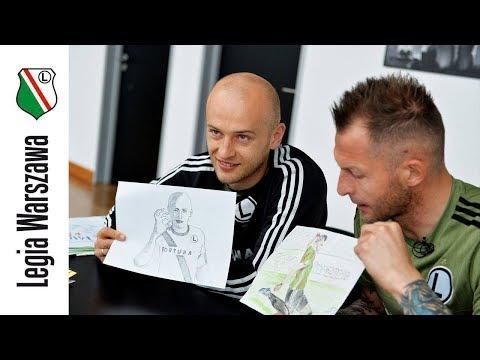 Malowana Legia: Arek Malarz i Michał Pazdan