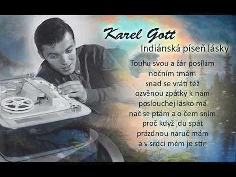Karel Gott / Indiánská píseň lásky