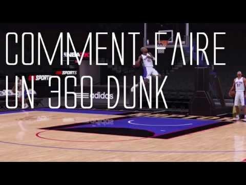 NBA 2K16  Tuto  Comment Faire un 360 Dunk