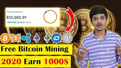 How To Online Bitcoin Mining | Free Bitcoin Mining 2020 and Earn Money Online