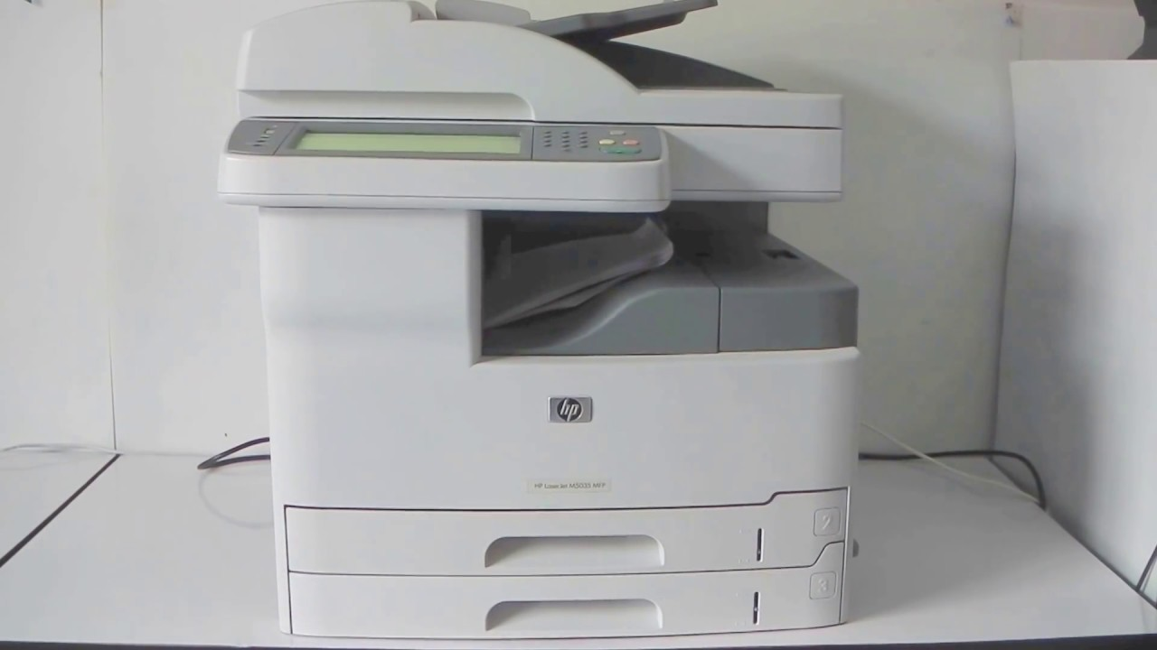 HP LaserJet M5035 MFP / M5035 MFP X / M5035 MFP XS / M5025 MFP Driver FREE