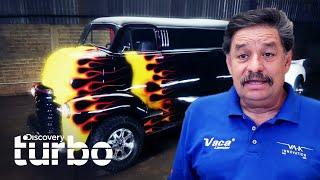 "Espectacular transformación de ""Limu-Camión"" Chevrolet Coe del 49 | Mexicánicos | Discovery Turbo"