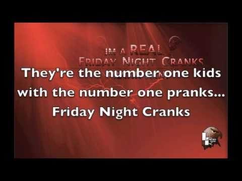Friday Night Cranks Theme Song - Lyrics