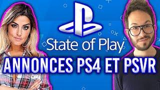 STATE of PLAY : les annonces PS4 et PSVR en CaroJu