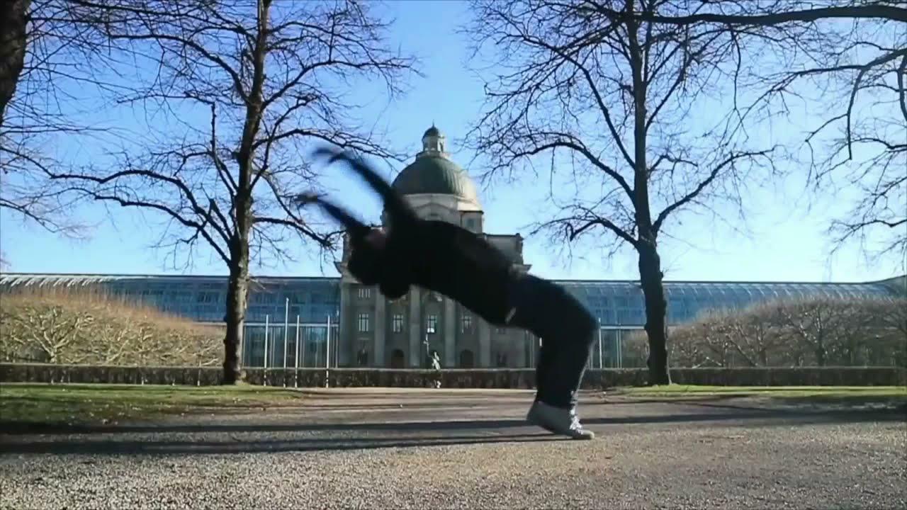 zack bruce back flip around the world -