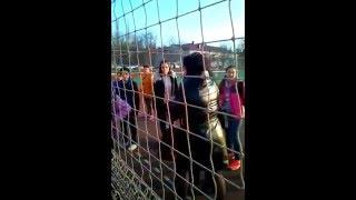 Чмо, отсосал первое место?! Детский тренер выясняет отношения с судьей и соперницами