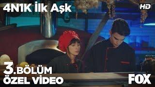 Yaprak ve Ali arasında ilk öpücük... 4N1K İlk Aşk 3. Bölüm