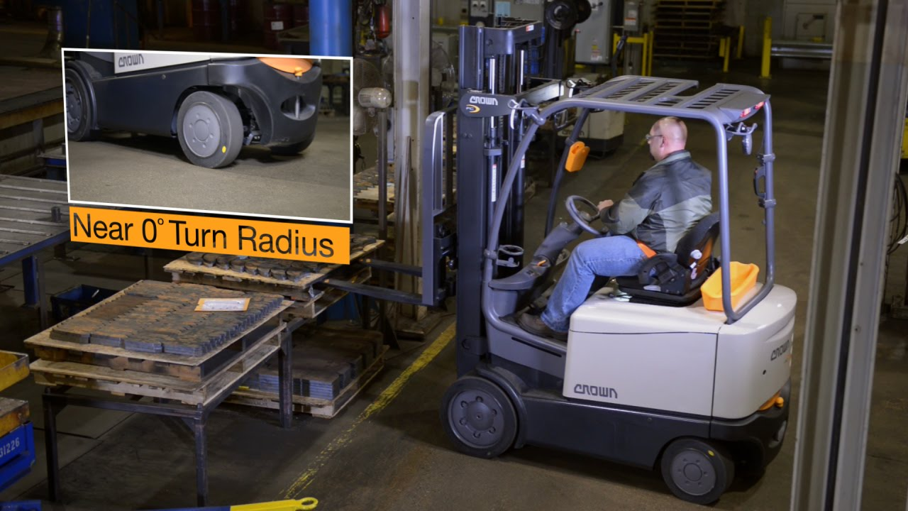 crown fc 5200 series counterbalance forklift [ 1280 x 720 Pixel ]