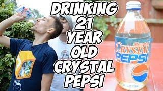 Drinking 21 Year Old Crystal Pepsi | WheresMyChallenge