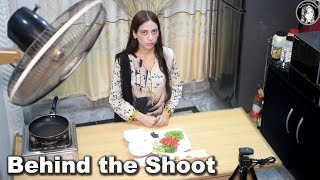 Behind the Shoot Kitchen Condition - Kitchen With Amna