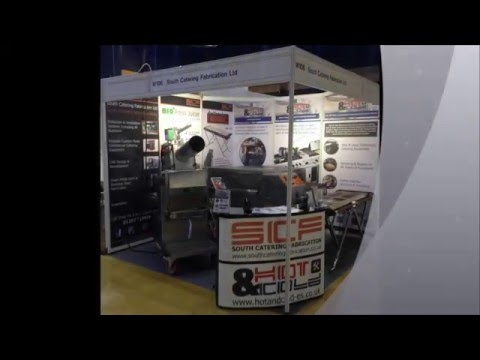 SCF BIO Press Juicer Hotel & Catering Show Bournemouth 2016