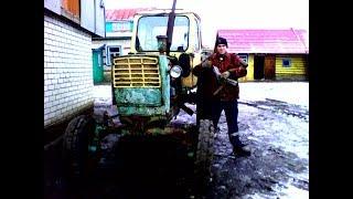 Купили трактор юмз-6