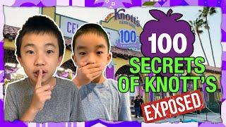 100 Hidden Secrets at Knott's Berry Farm