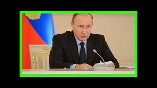 Смотреть видео Путин подписал закон о налогообложении имущества физических лиц в крыму онлайн