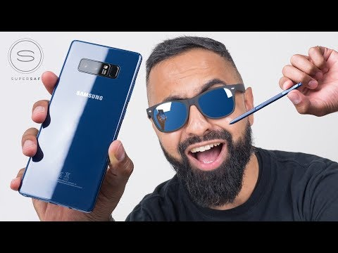 Samsung Galaxy Note 8 UNBOXING Deepsea Blue
