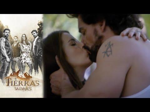 Isabel le confiesa su amor a Daniel | En tierras salvajes  - Televisa