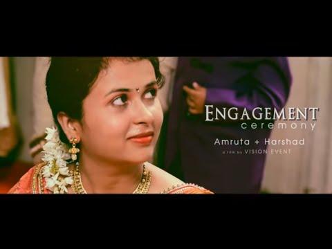 Marathi Engagement Video | Vision Event Nagpur| Amruta with Harshad