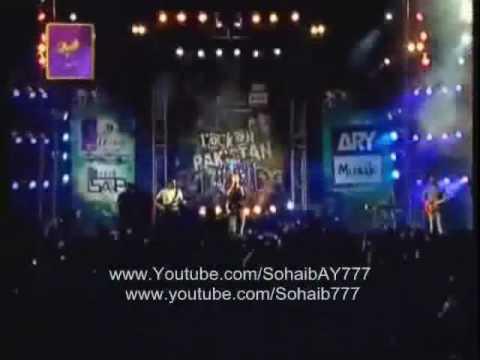 Entity Paradigm - Kahan Hai Tu(LIVE) - RoCK on Pakistan