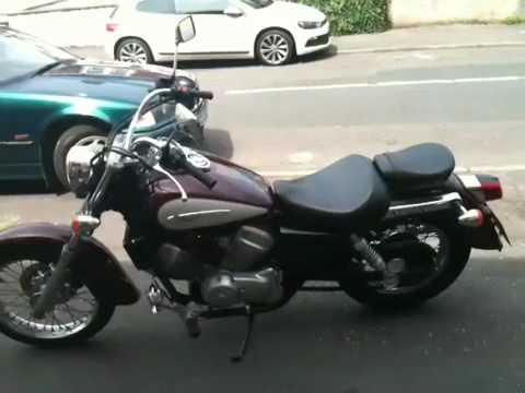 honda shadow 125 custom youtube. Black Bedroom Furniture Sets. Home Design Ideas