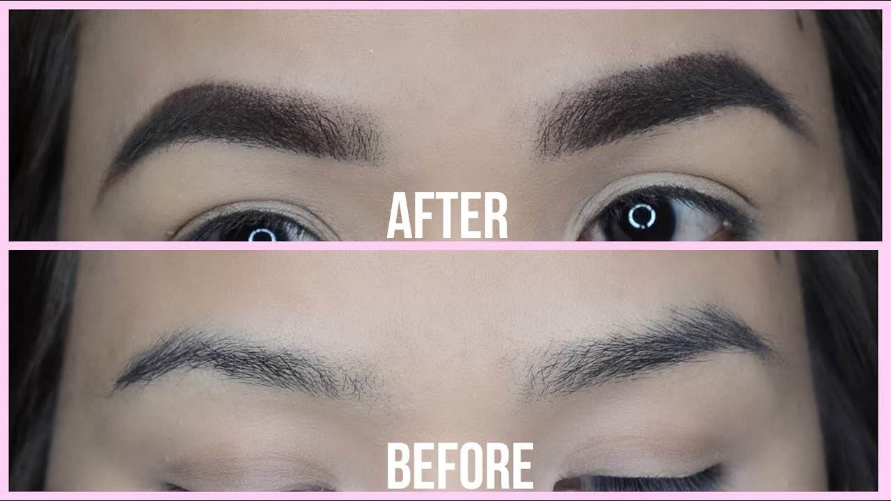 Eyebrow Routine How I Fill In My Brows Sparse And Uneven Brows