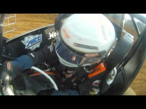 Lincoln Park Speedway MSCS hot lap. in car- Chase Briscoe