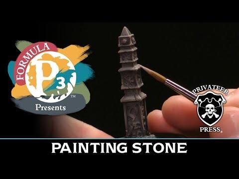 Formula P3 Presents: Painting Stone