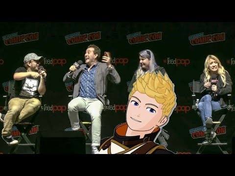How Jaune Got The Haircut - Miles & Kerry Spoil Vol 7 [ RWBY Panel - NYCC 2019 ]