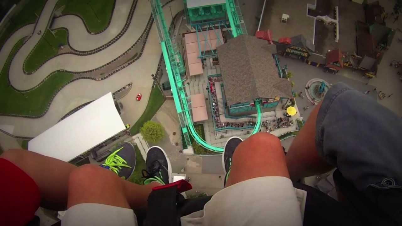 Drop Tower-Canadas Wonderland 2013 (On-Ride) POV - YouTube